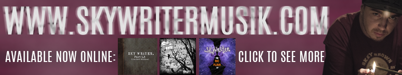 See more merch and music from SkyWriter!